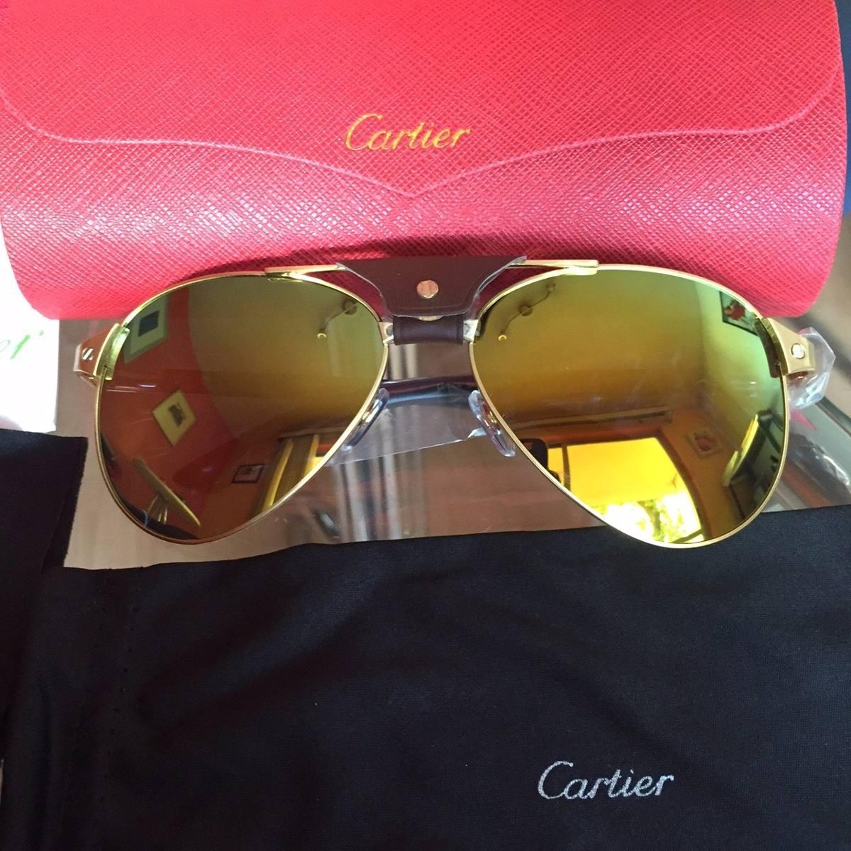 991a43c02d74b Lentes Cartier Santos Dumont Polarizados Edición Especial -   3,999.00 en  Mercado Libre