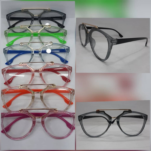 lentes casuales de niña al mayor y detal