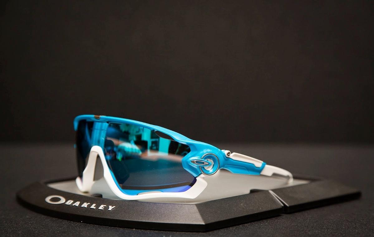 Oakley Jawbreaker Prizm >> Lentes Ciclismo Oakley Jawbreaker Sky 929002 Original ...
