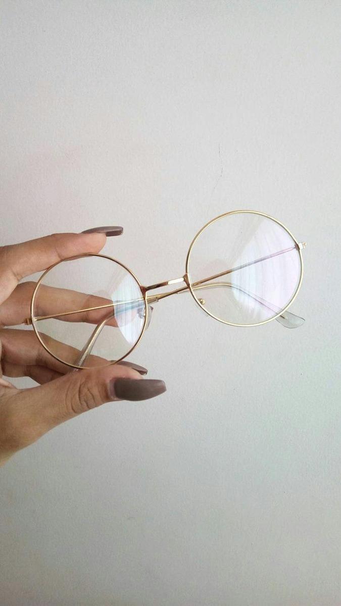 09ae845598 Lentes Circulares Transparentes Lennon - Bs. 7,50 en Mercado Libre