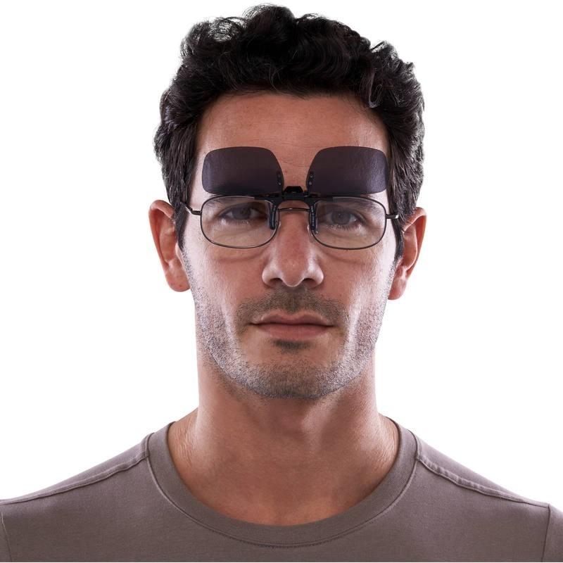 Lentes Clip-on - Óculos De Grau Escuro - R  25,00 em Mercado Livre 37588dc7ba