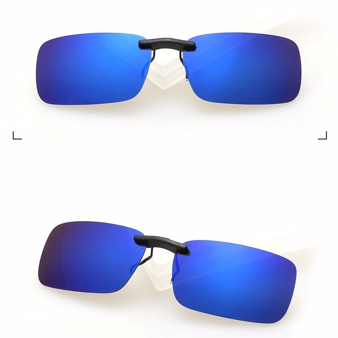 lentes clip-on sobrepor óculos de grau escuro uv400 flip up. Carregando  zoom. ade4c301a3