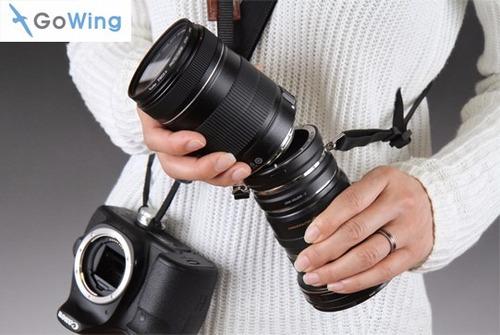 Duplo Suporte Para Lentes De Câmera Dslr - Nikon (bmworks) - R  427 ... 435bf6fee1