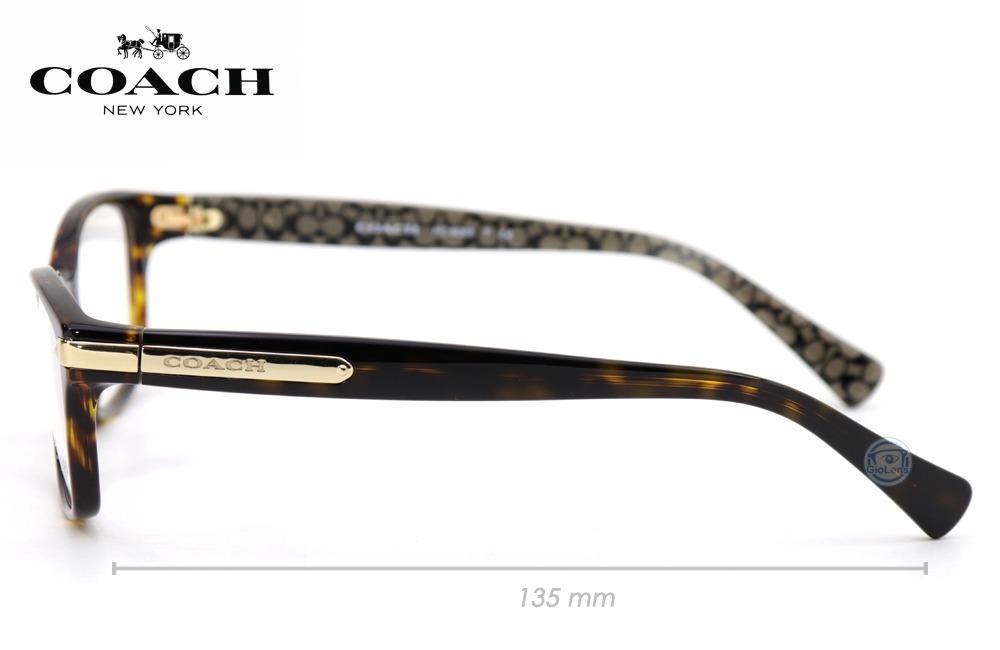343726f9cef0f lentes coach hc6065 5291 dark tortoise military oftalmico. Cargando zoom.