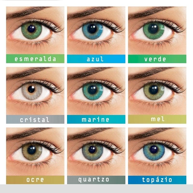 b574c1195acb1 Lentes Coloridas Natural Colors - Com Grau Ou Sem Grau - R  159,80 ...