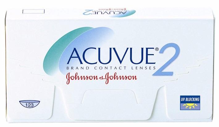 Lentes Contato Acuvue 2 Johnson C 6 Lentes Grau -4,75 - R  89,99 em Mercado  Livre d72d2c228c
