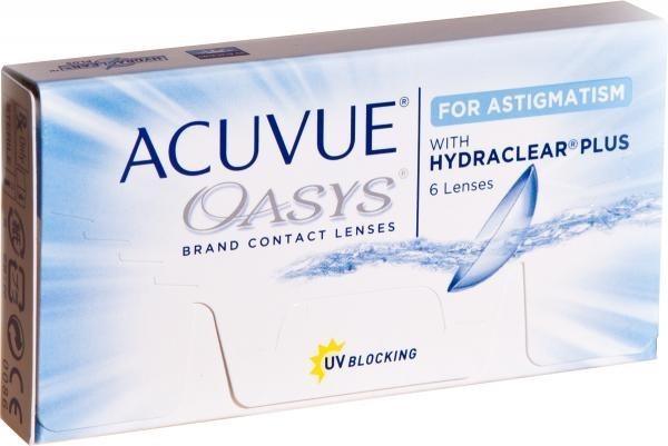 Lentes Contato Acuvue Oasys Astigmatismo - R  189,30 em Mercado Livre f2d3643d51