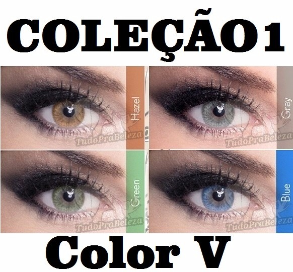 6d5b9a65c8 Lentes Contato Color Vision - Sem Grau / Compre 2 Leve 3 - R$ 59,99 ...