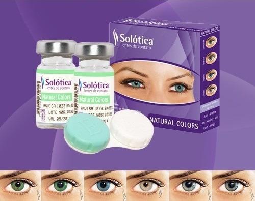 lentes contato colorida