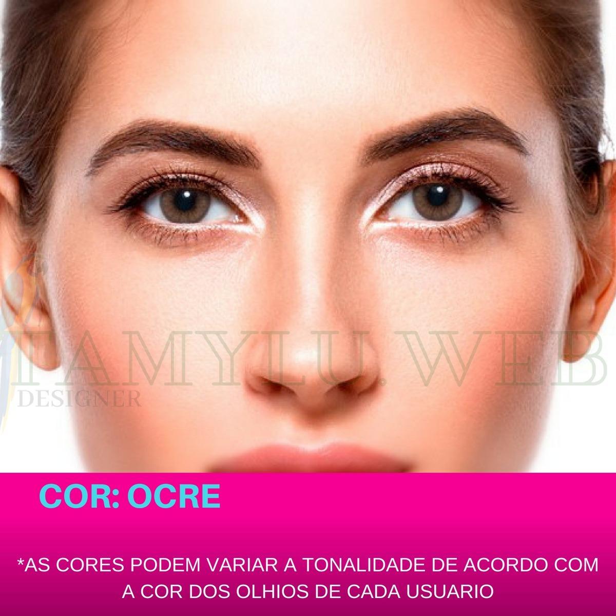 cffd3ebc746b0 Lentes De Contato Coloridas Natural Colors Solótica Oferta - R  57 ...