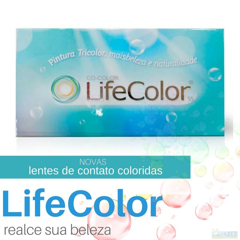 9dc5cceb90f1c Lentes De Contato Coloridas Mensal Life Color Tricolor - R  37,45 em ...
