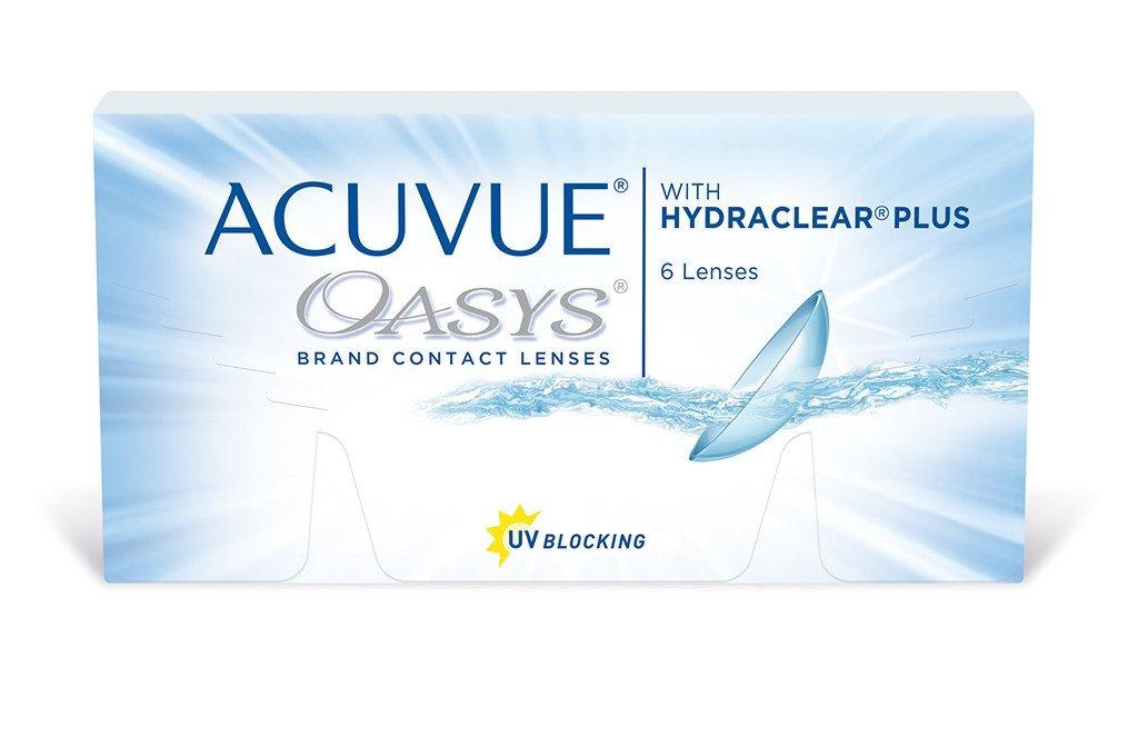 Lentes De Contato Acuvue Oasys Com Hydraclear Plus +5.00 - R  107,33 ... f8d7197a26