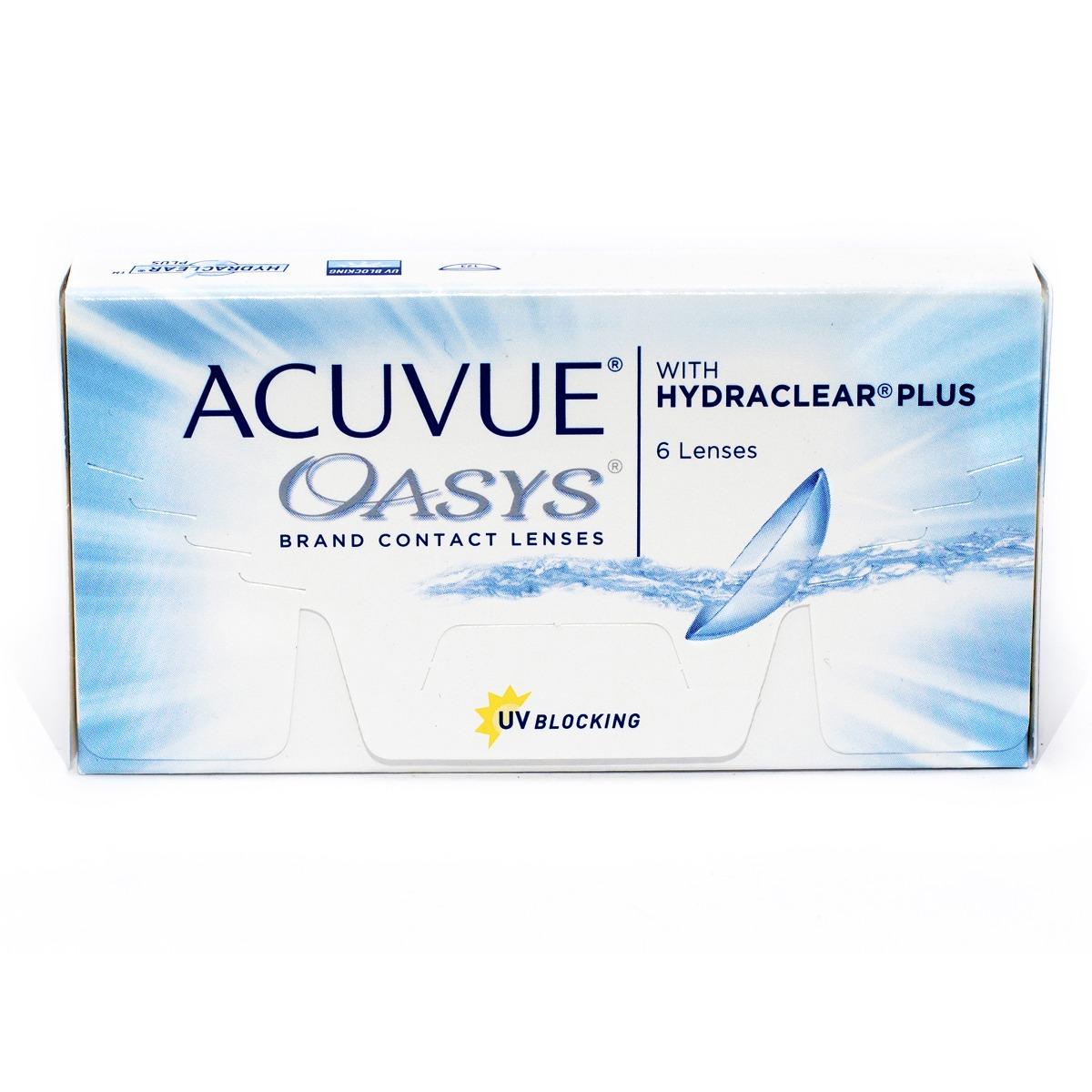 Lentes De Contato Acuvue Oasys Com Hydraclear Plus Grau-3.50 - R ... 31479706ac