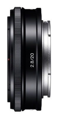 lentes de cámara slr,sony sel-20f28 e-mount 20mm f2.8 le..