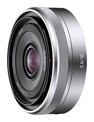 lentes de cámara slr,sony sel16f28 lente gran angular 16..