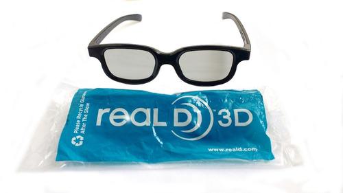 lentes de cine 3d  polarizado pasivo reald 3d
