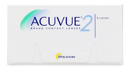 lentes de contacto acuvue 2, reemplazo quincenal  neutra