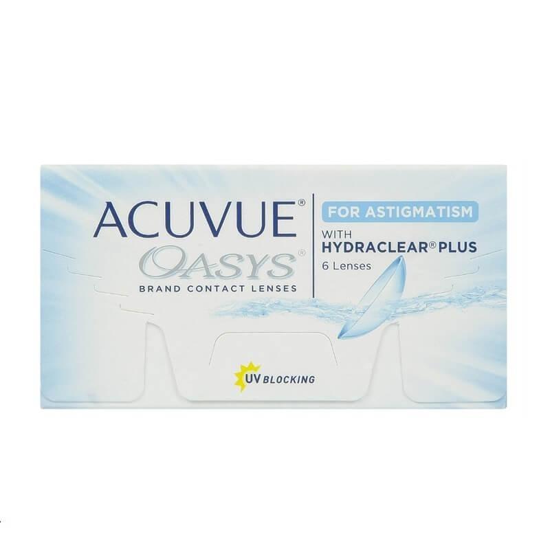 Lentes De Contacto Acuvue Oasys Astigmatismo -   174.000 en Mercado ... 817db3174f