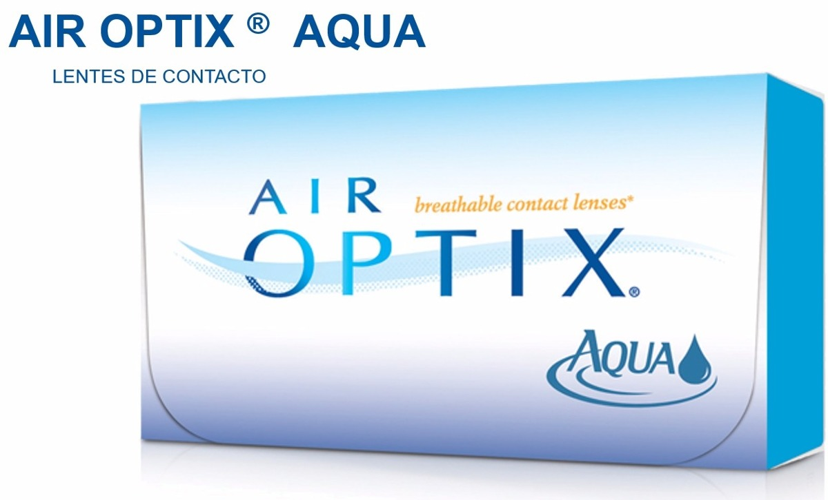 dd6e1c13bd96f5 Lentes De Contacto Air Optix Aqua Caja X 6 Unidades - S  175,00 en ...
