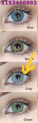 lentes de contacto anuales.