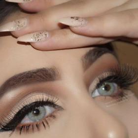 Lentes De Contacto Anuales Cosmeticos Sin Borde