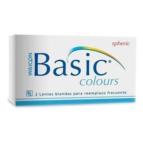 Lentes De Contacto Basic Colours Waicon - Optica Habilitada