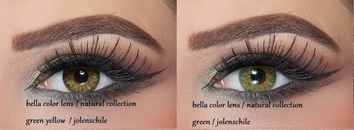 lentes de contacto bella color lens natural collection