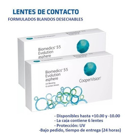 Biomedics Contacto De Blandos Uv Lentes Formulados sdCQhotrxB