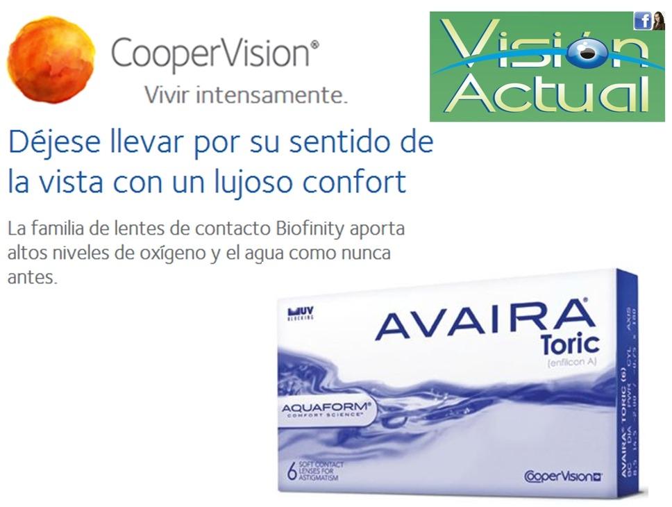 8ec1b12309 Lentes De Contacto Blandos - Avaira Toric- Real Confort - S/ 250,00 ...