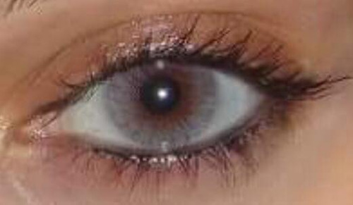 lentes de contacto cometicos gris