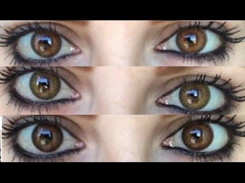 lentes de contacto cometicos pure hazel