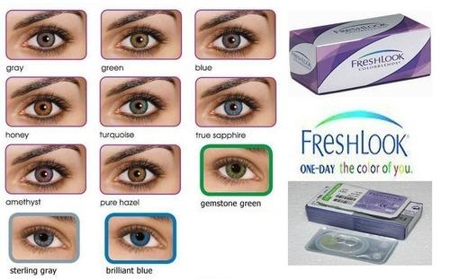 lentes de contacto cosmeticos