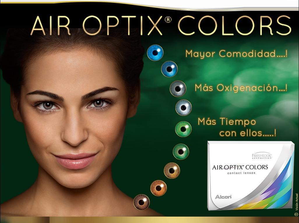 4854dbf12084c lentes de contacto cosméticos air optix colors 100% oxigeno. Cargando zoom.