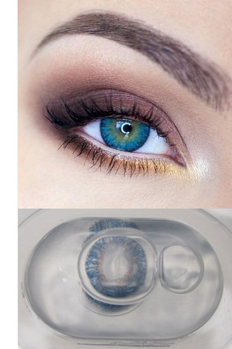 lentes de contacto de color cosmeticos larga duracion moda