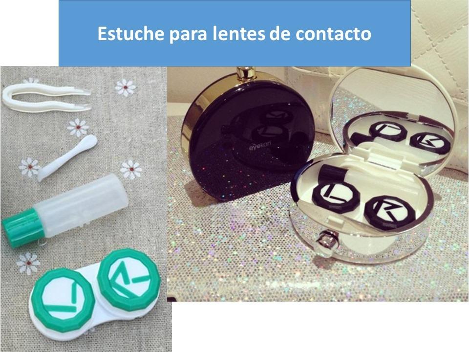 0f82900616 Lentes De Contacto Estuche En Forma De Perfume - $ 95.00 en Mercado ...