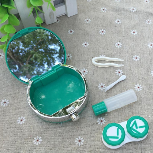 lentes de contacto estuche en forma de perfume dhl gratis