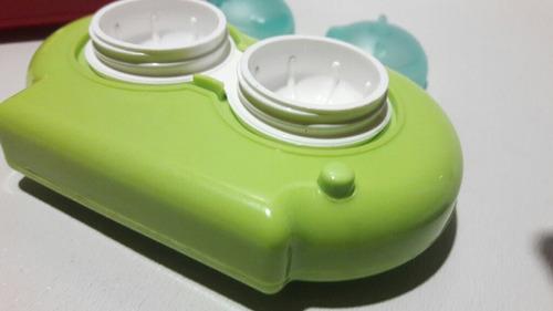 lentes de contacto - estuche limpiador ultrasónico