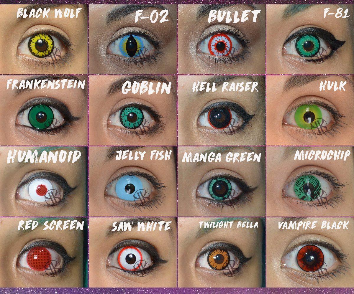 68f5d2a86d047 lentes de contacto fantasia verde rojo azul amarillo blanco. Cargando zoom.