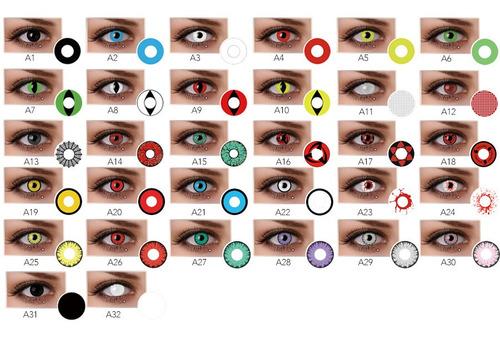 lentes de contacto freshgo halloween fantasia cosplay