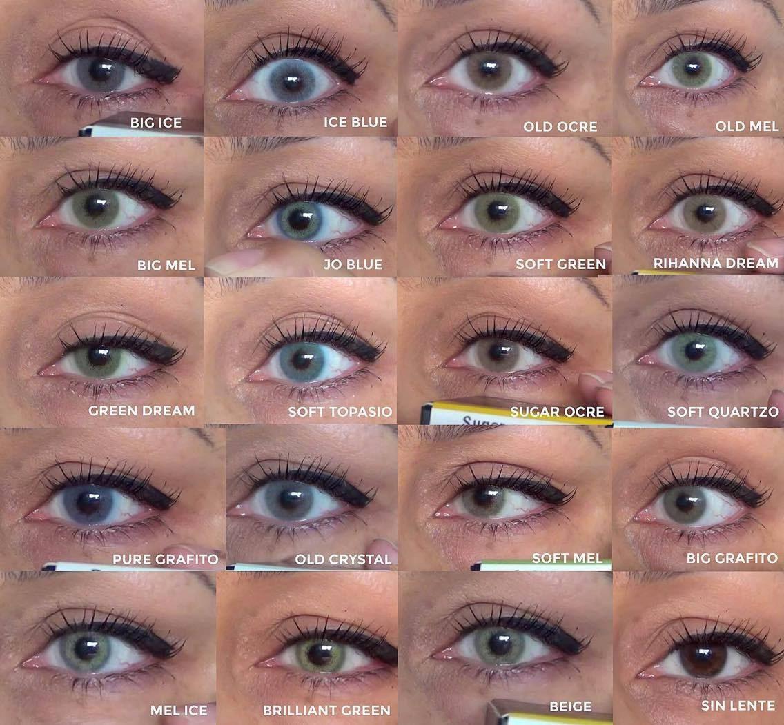 ca48a1be4b452 Lentes De Contacto Jolens Premium 19 Colores Naturales -   18.000 en ...
