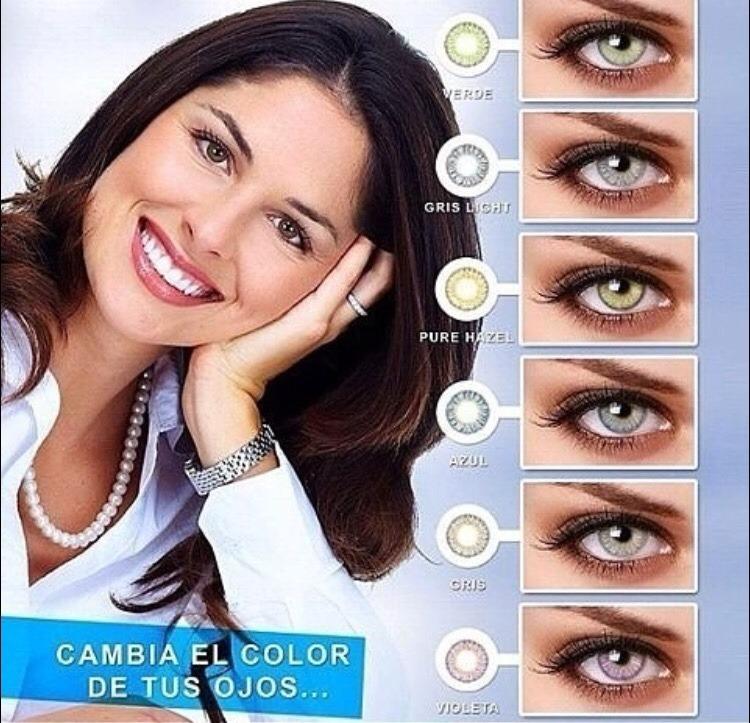c06e8d2f9a Lentes De Contactos Cosméticos Anyday Verde,gris,puré Hazel - Bs. 0 ...