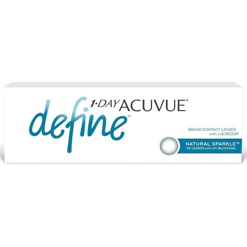 5a12509ec5ea1 lentes de contato 1-day acuvue define sparkle -3.50 bc 8.5. Carregando zoom.