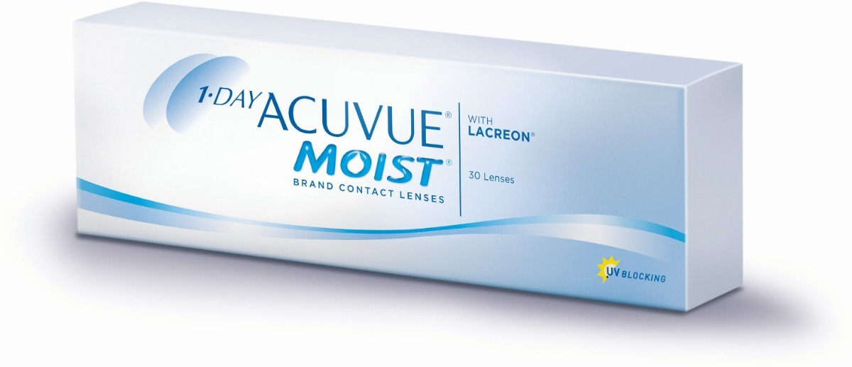 58ab70a968 lentes de contato 1-day acuvue moist miopia -3.50 bc 8.5. Carregando zoom.