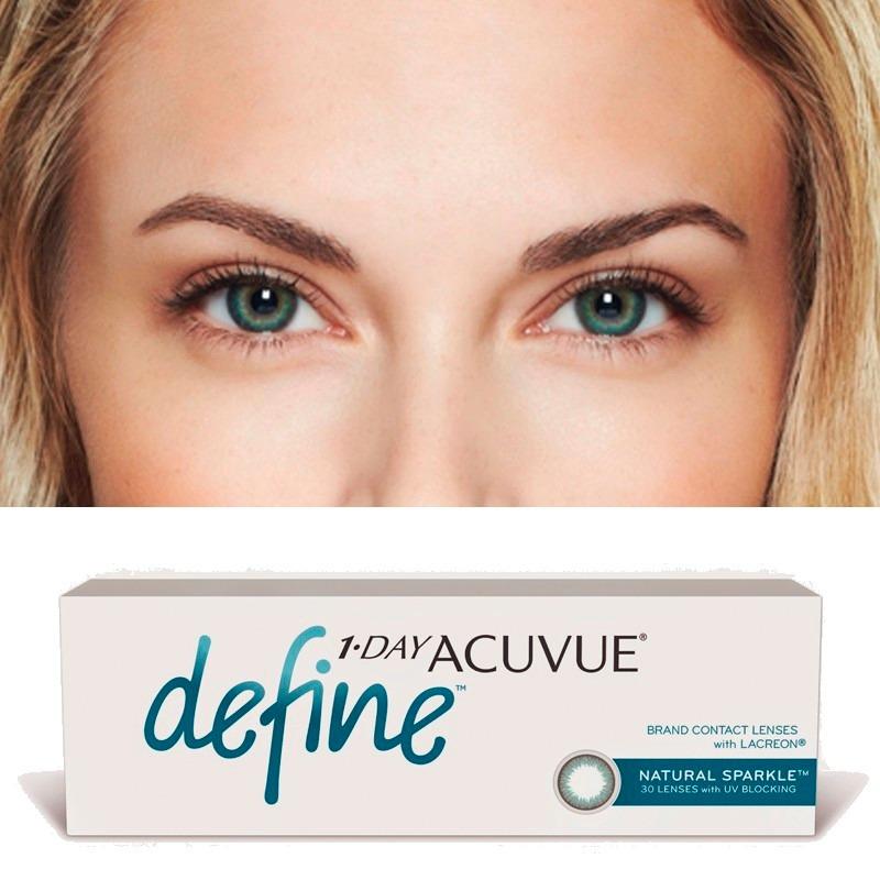Lentes De Contato Acuvue 1-day Define - Efeito Sparkle - R  108,99 em  Mercado Livre 0d513e32de