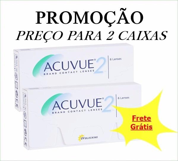 Lentes De Contato Acuvue 2 Johnson 2cx C  Frete Grátis!! - R  220,00 em  Mercado Livre 93c27a3510