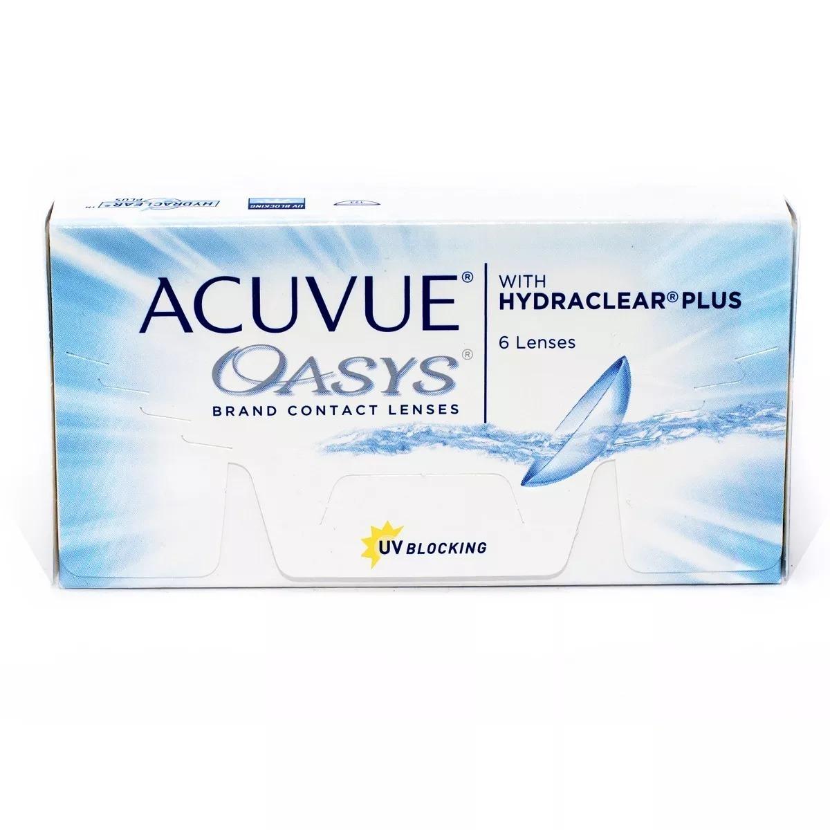 Lentes De Contato Acuvue Oasys Com Hydraclear Plus +3,25 - R  99,99 ... f797edf600