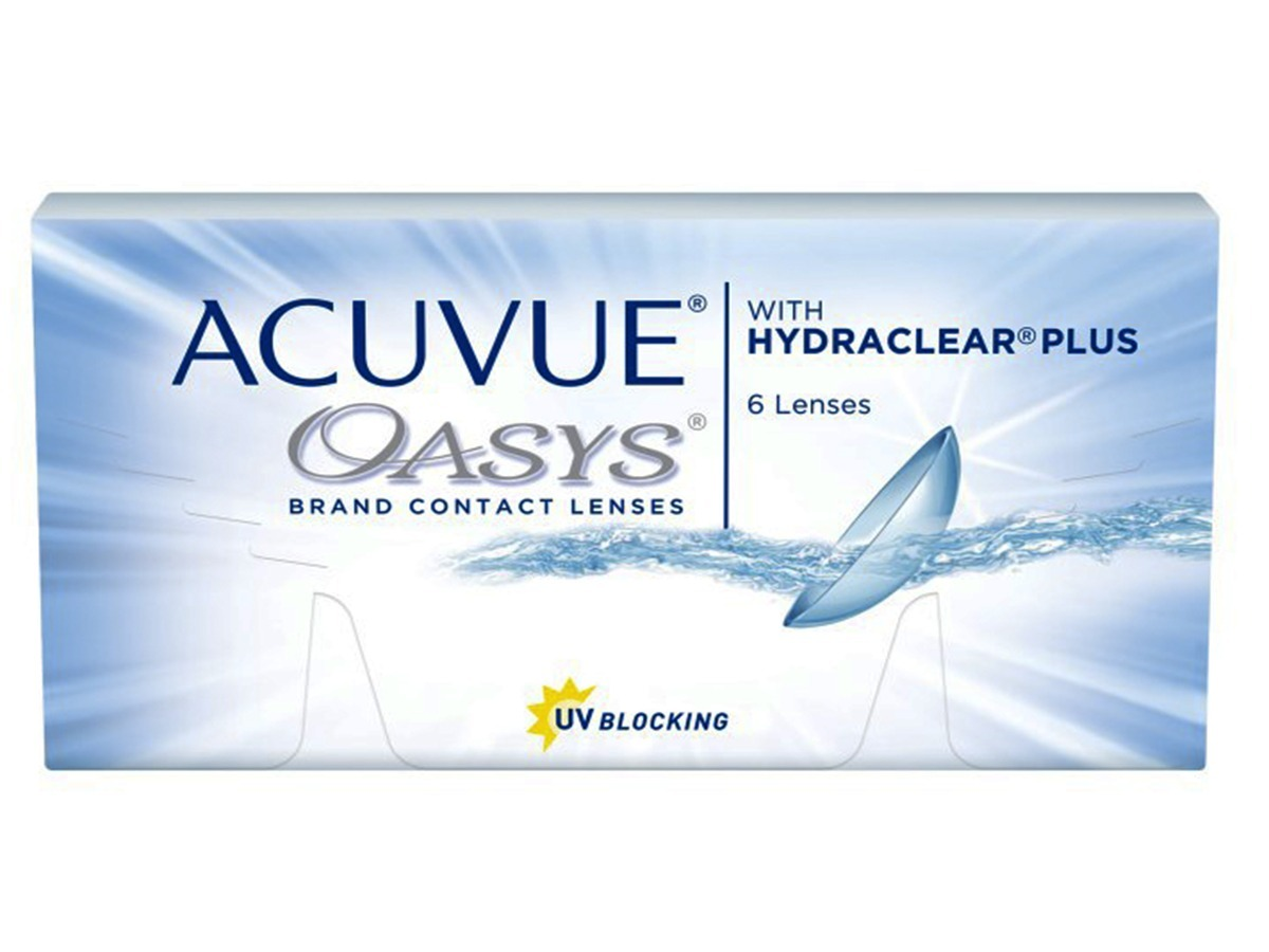 7b3cac5958e0d Lentes De Contato Acuvue Oasys Com Hydraclear Plus Original - R  119 ...