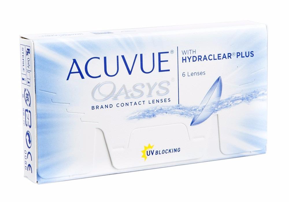 lentes de contato acuvue oasys silicone hidrogel - johnson. Carregando zoom. 62316c19fd