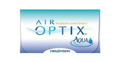 lentes de contato air optix aqua - frete grátis