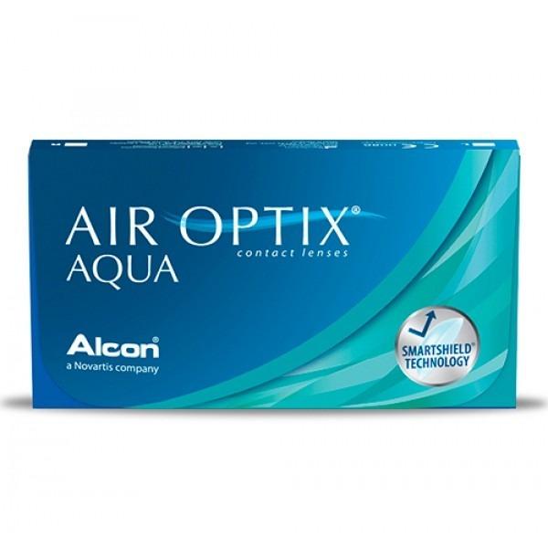 d94306085528d Lentes De Contato Air Optix Aqua Incolor Com Grau   Miopia - R  120 ...